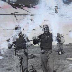 Militaria: FOTOGRAFÍA ESQUIADORES ALTA MONTAÑA DEL EJÉRCITO ESPAÑOL. JACA 1953. Lote 143006266