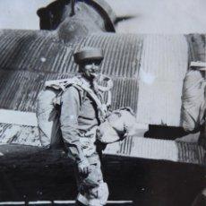 Militaria: FOTOGRAFÍA PARACAIDISTA BRIGADA PARACAIDISTA. BRIPAC JUNKERS-52. Lote 143007798