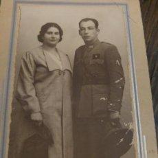 Militaria: FOTOGRAFIA ALFEREZ GUERRA CIVIL. SEVILL 1938. Lote 143183650