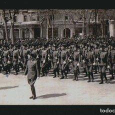 Militaria: DESFILE DE LA GUARDIA CIVIL. FOTOGRAFIA SUAREZ BARCELONA.AÑOS 40.POSTAL FOTOGRÁFICA SIN CIRCULAR.. Lote 143206714