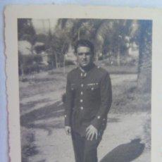 Militaria: GUERRA CIVIL : FOTO DE TENIENTE DE INGENIEROS . CEUTA, 1937 . DE FOTO ROS. Lote 143334874