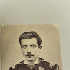 Militaria: J- PRECIOSA FOTO MILITAR ESPAÑO SIGLO XIX ? ORIGINAL. Lote 143801870