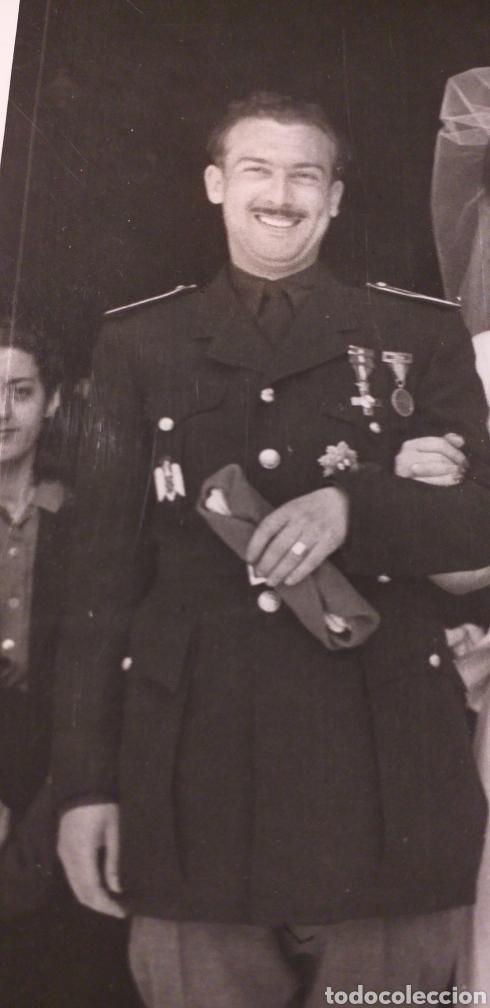 Militaria: Falangista.Falange.Foto de boda - Foto 2 - 143928076