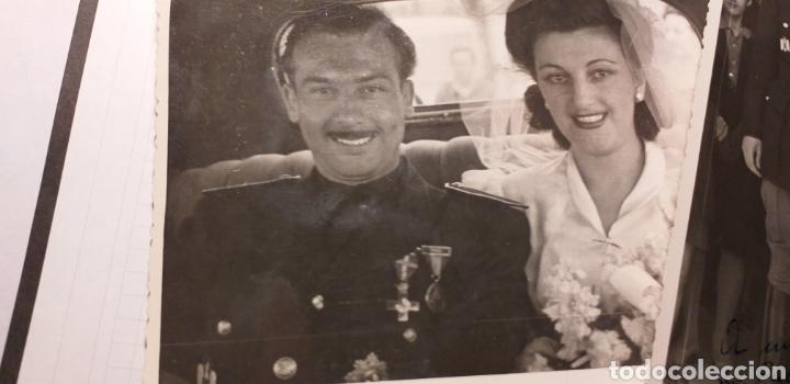 Militaria: Falangista.Falange.Foto de boda - Foto 3 - 143928076
