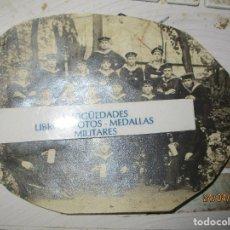 Militaria: ESCUADRA DIVISION CRIEGSMARINE ALEMANIA MARINA FOTO ANTIGUA. Lote 143945522