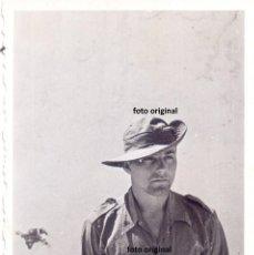 Militaria: SOLDADO LEGION CONDOR UNIFORME VERANO CON SOMBRERO CHAMBERGO GUERRA CIVIL. Lote 144314810