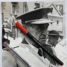 Militaria: DIVISIÓN AZUL. INTERESANTE FOTOGRAFÍA DEL CAPITÁN GENERAL AGUSTÍN MUÑOZ GRANDES.. Lote 144614474