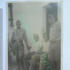 Militaria: TARJETA POSTAL. SOLDADOS. . Lote 144862778