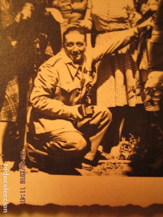 Militaria: OFICIALES PLAZA TOROS CEUTA Y OFICIAL FOTOGRAFO FINAL GUERRA CIVIL CIRCA 1939 - Foto 6 - 141857186