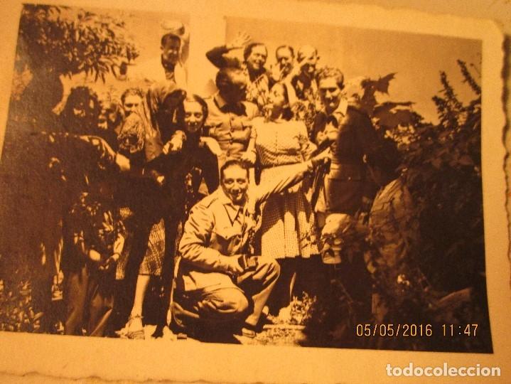 Militaria: OFICIALES PLAZA TOROS CEUTA Y OFICIAL FOTOGRAFO FINAL GUERRA CIVIL CIRCA 1939 - Foto 5 - 141857186