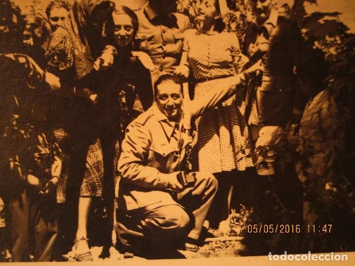 Militaria: OFICIALES PLAZA TOROS CEUTA Y OFICIAL FOTOGRAFO FINAL GUERRA CIVIL CIRCA 1939 - Foto 8 - 141857186