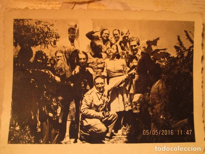 Militaria: OFICIALES PLAZA TOROS CEUTA Y OFICIAL FOTOGRAFO FINAL GUERRA CIVIL CIRCA 1939 - Foto 10 - 141857186