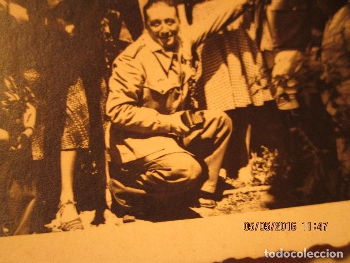 Militaria: OFICIALES PLAZA TOROS CEUTA Y OFICIAL FOTOGRAFO FINAL GUERRA CIVIL CIRCA 1939 - Foto 9 - 141857186