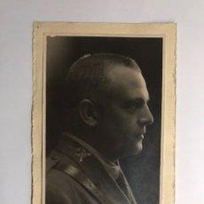 Militaria: MILITAR. CAPITÁN ENRIQUE VILLALBA. FOTOGRAFÍA ORIGINAL. EDITA: FOTOGRAFÍA ESPAÑA. MELILLA (H.1940?). Lote 145086036