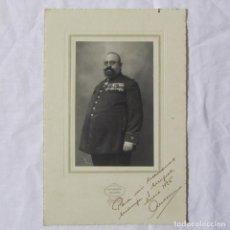 Militaria: FOTOGRAFÍA COMANDANTE ÉPOCA DE ALFONSO XIII. 1926 FOTO QUIJANO. Lote 145291942