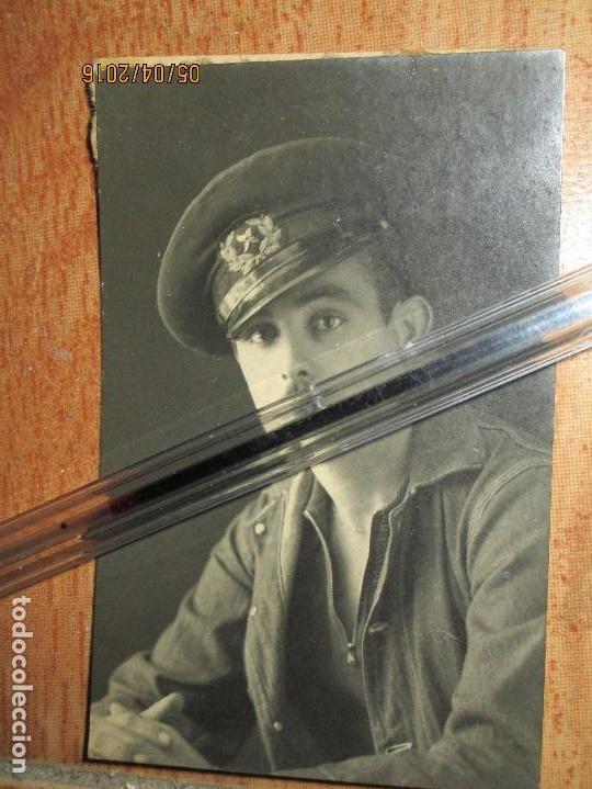 Militaria: FERIA BAR DE CEUTA OFICIAL MARINA COMBATIENTE EN GUERRA CIVIL FIRMADA - Foto 3 - 141895738