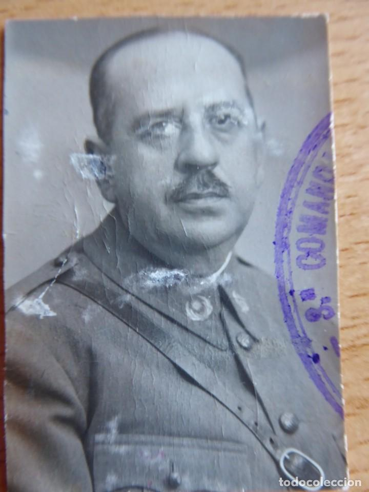 FOTOGRAFÍA OFICIAL INTENDENCIA DEL EJÉRCITO ESPAÑOL. 1936 (Militar - Fotografía Militar - Otros)