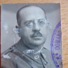 Militaria: FOTOGRAFÍA OFICIAL INTENDENCIA DEL EJÉRCITO ESPAÑOL. 1936. Lote 145436322