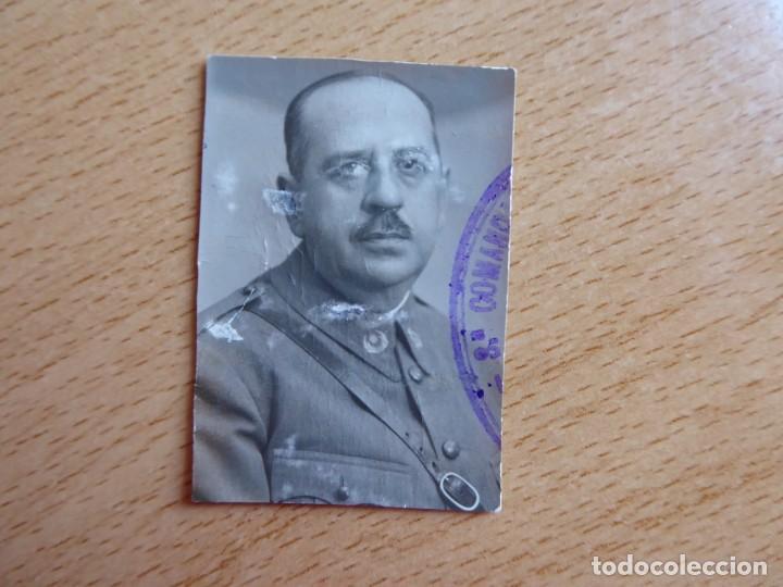Militaria: Fotografía oficial Intendencia del ejército español. 1936 - Foto 2 - 145436322