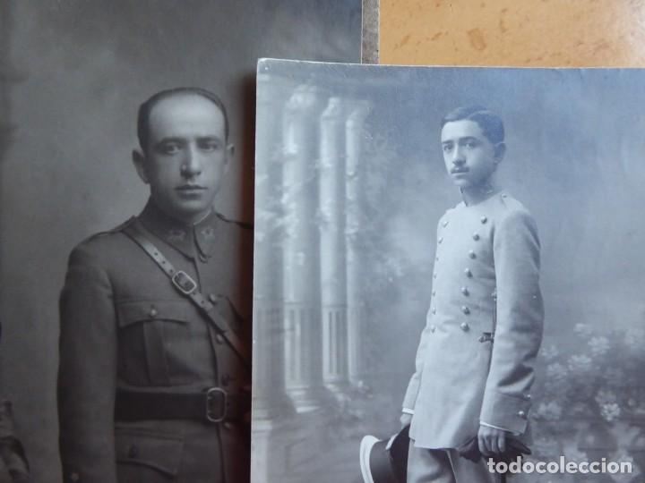 FOTOGRAFÍA CAPITÁN DEL EJÉRCITO ESPAÑOL. (Militar - Fotografía Militar - Otros)