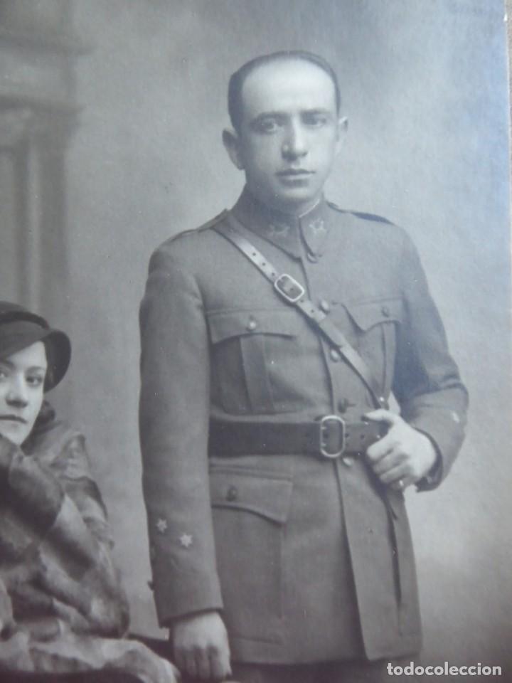 Militaria: Fotografía capitán del ejército español. - Foto 4 - 145438310