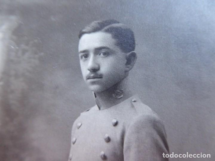Militaria: Fotografía capitán del ejército español. - Foto 6 - 145438310