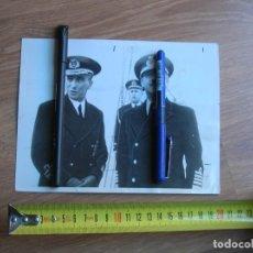 Militaria: FOTOGRAFIA DE AGENCIA NORTEAMERICANA DEL GENERALISIMO FRANCO EN 1939 COMO ALMIRANTE. YUGO Y FLECHAS.. Lote 145584462