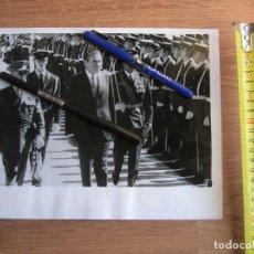 Militaria: GRAN FOTOGRAFIA DE AGENCIA NORTEAMERICANA. PRESIDENTE NIXON CON EL GENERALISIMO FRANCO. AÑO 1970. Lote 145598298