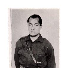 Militaria: FOTOGRAFÍA JOSE ANTONIO PRIMO DE RIVERA. FOTO DOMINGO DURAN. PALMA. 9 X 11,5 CM. Lote 145659854