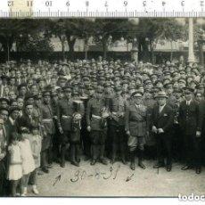 Militaria: FOTOGRAFIA BANDA MILITAR DE INGENIEROS , APOCA DEL ALFONSO XIII. FOTO ALONSO AVILES. Lote 146021118