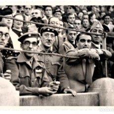 Militaria: GUERRA CIVIL ESPAÑOLA,FOTOGRAFIA COMANDANTE,TTE.CORONEL REQUETES,LEGIONARIO,PLAZA TOROS ZARAGOZA1937. Lote 146137534