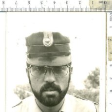 Militaria: FOTOGRAFIA DE POLICÍA TERRITORIAL DEL SAHARA CON EMBLEMA POLICIA ORDEN PUBLICO..... Lote 146142258
