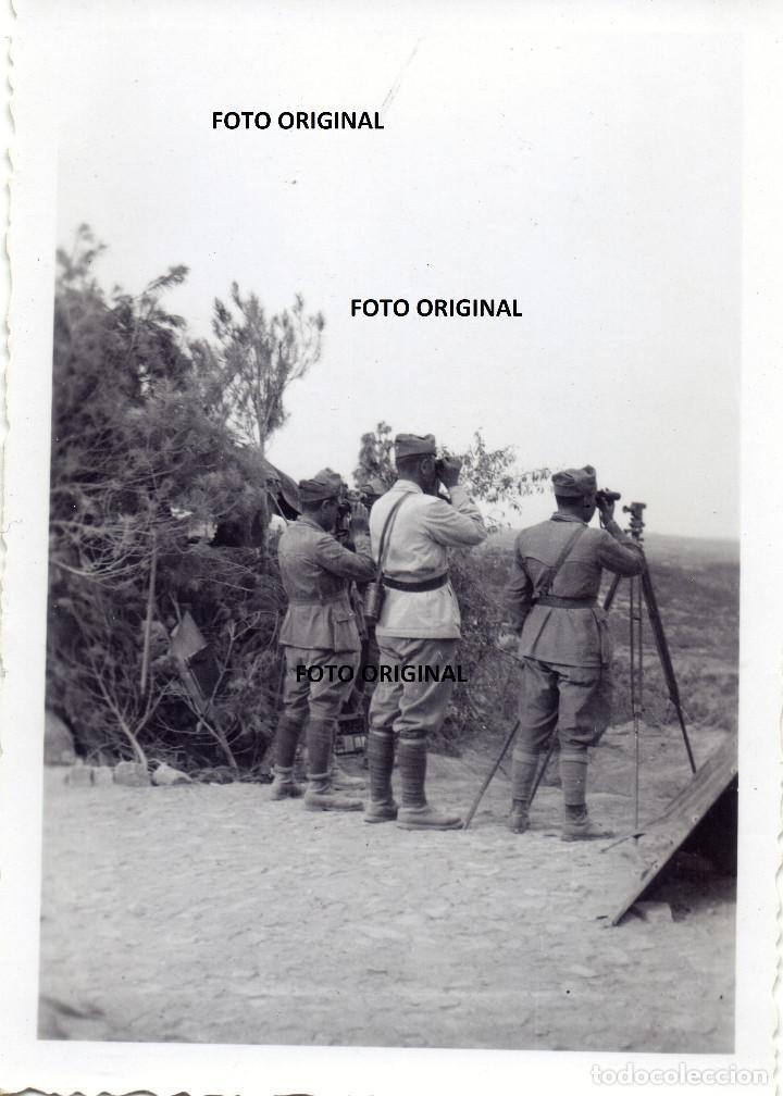 DIVISION LITTORIO CTV BATALLA EBRO NOVIEMBRE 1938 SERRA CAVALLS PAULS?TARRAGONA GUERRA CIVIL (Militar - Fotografía Militar - Guerra Civil Española)