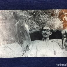 Militaria: ANTIGUA FOTOGRAFÍA MILITAR FRANCISCO FRANCO DE JOVEN GENERALISIMO PPIO S XX. Lote 146364062