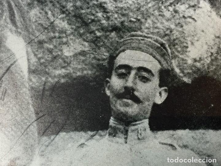Militaria: ANTIGUA FOTOGRAFÍA MILITAR francisco FRANCO DE JOVEN generalisimo PPIO S XX - Foto 2 - 146364062