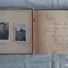Militaria: WWII OFICIAL ALEMAN.ALBUM-DIARIO FOTOGRAFICO NAZI. Lote 146432002