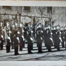 Militaria: ACADEMIA SANIDAD MILITAR, PROMOCION BRIGADAS RINDIENDO HONORES DIA DE LA JURA EN VALVERDE 1954. Lote 146511658