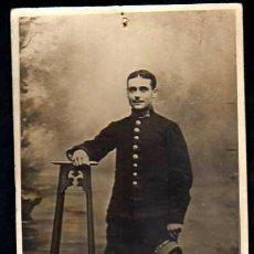 Militaria: I ª GUERRA MUNDIAL: FOTO MILITAR CON UNIFORME FRACES MUERTO EN EL VERDUN EN 1916 .. ¿ ESPAÑOL ?, VER. Lote 146761378