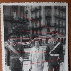 Militaria: CADETE AGM DE PRIMER AÑO DE PASEO CON SUS PADRES EN ZARAGOZA. ORIGINAL, SELLO FOTOS DEL PILAR. 1964. Lote 146815242