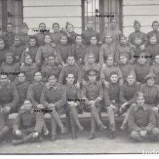 Militaria - FOTO POSTAL REGIMIENTO JACA HUESCA SUBLEVACION GALAN Y HERNANDEZ?? PRE GUERRA CIVIL - 146902746