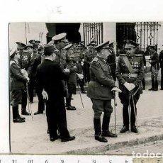Militaria: FOTOGRAFÍA DE MILITAR TENIENTE CORONEL CON SABLE , GUARDIA CIVIL ETC......TETUAN. Lote 146994386