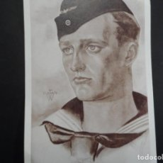 Militaria: POSTCARD KRIEGSMARINE. CRUCERO PESADO DKM BLUCHER. HUNDIDO EN NORUEGA EN 1940. Lote 147047998