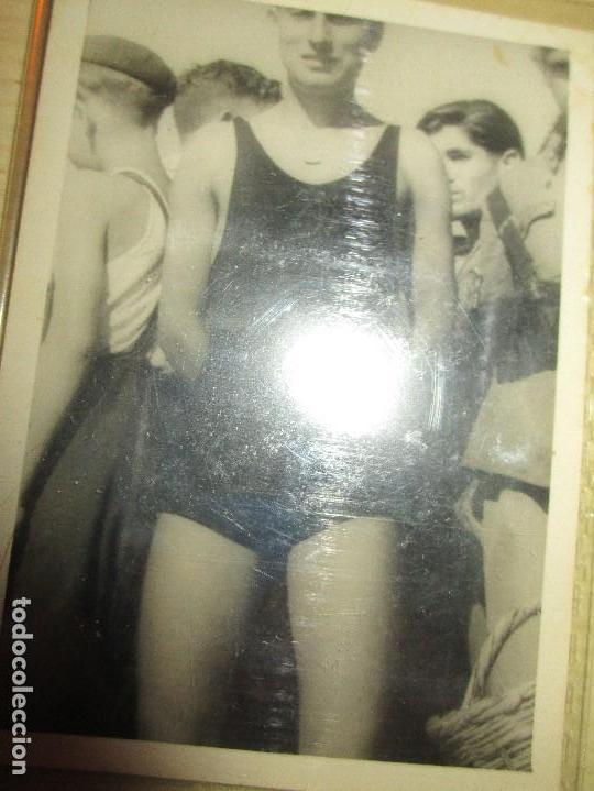HOLIMPIADAS MILITAR EK MELILLA NATACION ATLETA POST GUERRA CIVIL MELILLA CIRCA 1939 MES VI (Militar - Fotografía Militar - Guerra Civil Española)