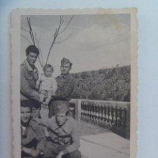 Militaria: GUERRA CIVIL : FOTO DE MILICIANOS ROJOS, POSIBLEMENTE BRIGADAS INTERNACIONALES. REVELADA EN POLONIA. Lote 147569146