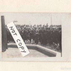 Militaria: VISITA DEL GENERAL MIGUEL PRIMO DE RIVERA A CÁDIZ.FINALES AÑOS 20S.POSTÁL FOTOGRÁFICA.. Lote 147642210