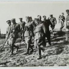 Militaria: 1937 GUERRA CIVIL - FRANCO - REINOSA SANTANDER - AGENCIA KEYSTONE - 25X20 CM APROX. Lote 147686962