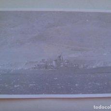 Militaria: FOTO DE BUQUE DE GUERRA EN ALTA MAR .......... 12 X 18 CM. Lote 147694790
