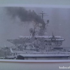 Militaria: FOTO DE UN PORTAAVIONES ......... 12 X 18 CM. Lote 147706278