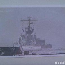 Militaria: FOTO DE BUQUE DE GUERRA EN ALTA MAR .......... 12 X 18 CM. Lote 147759762