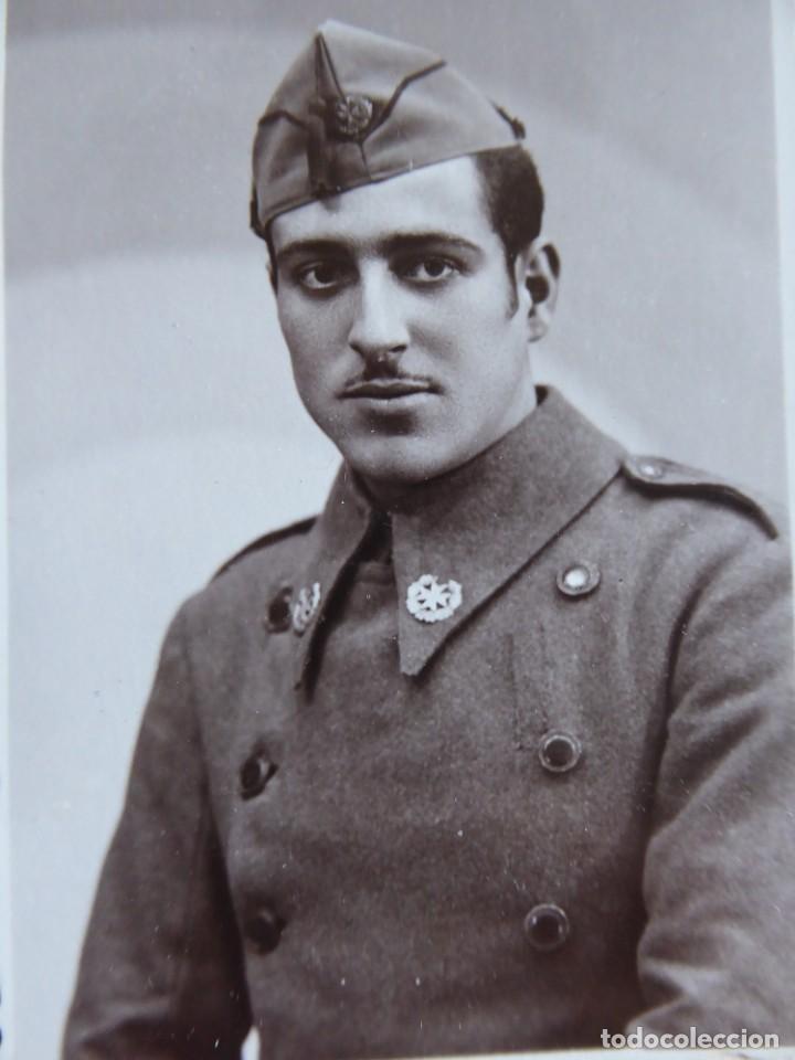 FOTOGRAFÍA SOLDADO SANIDAD MILITAR DEL EJÉRCITO NACIONAL. ZARAGOZA (Militar - Fotografía Militar - Guerra Civil Española)